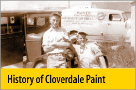 History of Cloverdale Paint