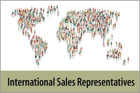 International Sales Representatives