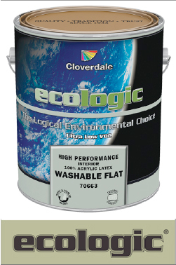 Cloverdale Paint Ecologic Ultra Low Voc