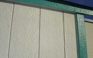 Paint T1-11 Siding Panels