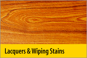 Lacquers & Wiping Stains - PRO