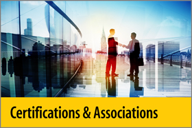 Certifications & Associations - About Us