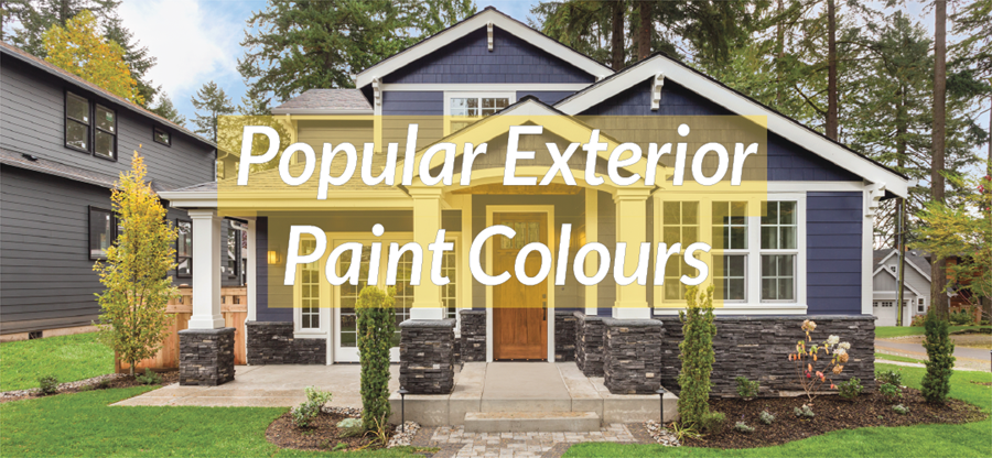 Top exterior paint colours for your home