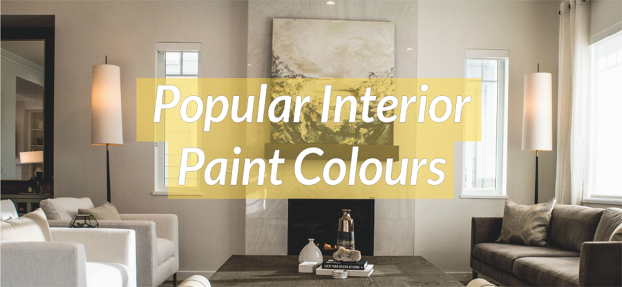 Top interior home paint colours
