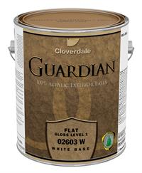 guardian flat acrylic latex paint exterior