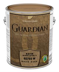 guardian satin acrylic latex exterior paint