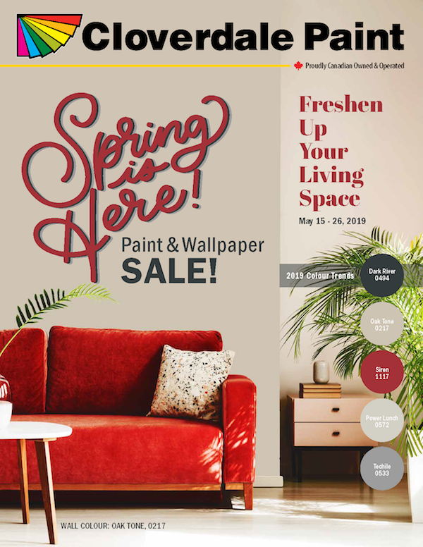 2019 Spring May 15-26 Retail Flyer Cover