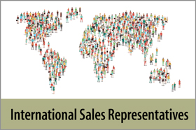 International Sales Representatives