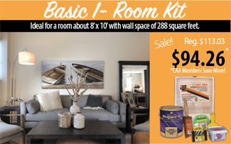 Basic 1-room Paint Kit
