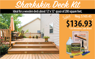 Cloverdale Paint SharkSkin deck DIY paint kit