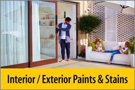 Interior / Exterior Paints & Stains - PRO