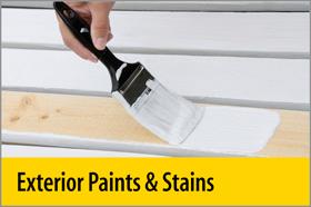 Exterior Paints & Stains - PRO