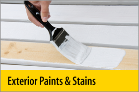Exterior Paints & Stains