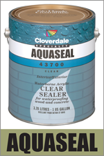 Cloverdale Paint | Clear Sealers