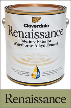 Cloverdale Paint   Renaissance Int & Ext Waterborne Alkyd Enamel