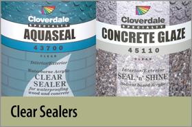 Clear Sealers