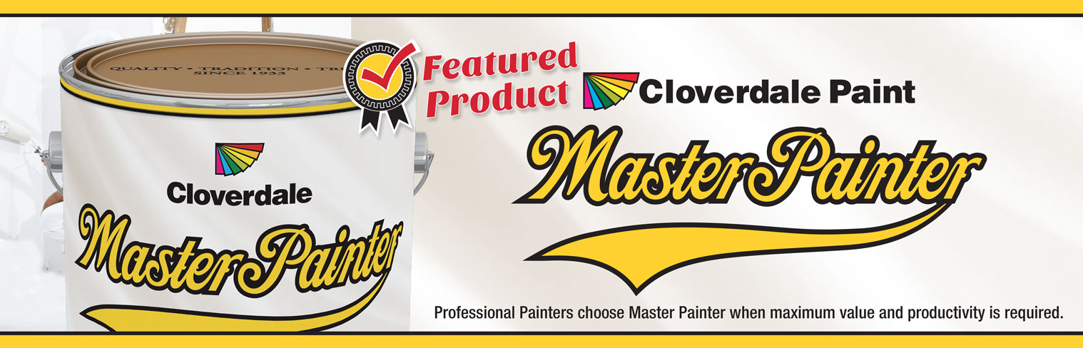 Featured Product of the Month - Master Painter