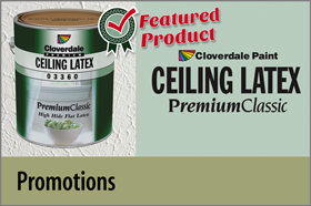 Featured Product of the Month: Ceiling Latex