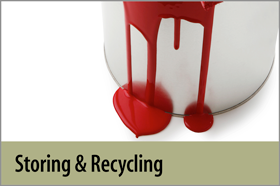 Storing and Recycling Paint